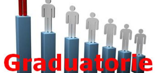 Pubblicazione in tutte le scuole di ogni ordine e grado delle graduatorie di istituto di II e III fascia valevoli per il biennio 2020/2021 e 2021/2022.