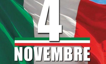 Manifestazione IV novembre: incontri con alunni