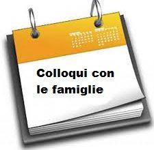 Incontro scuola-famiglia/ valutazione intermedia primaria