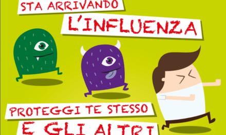 Prevenzione e controllo influenza: raccomandazioni 17/18