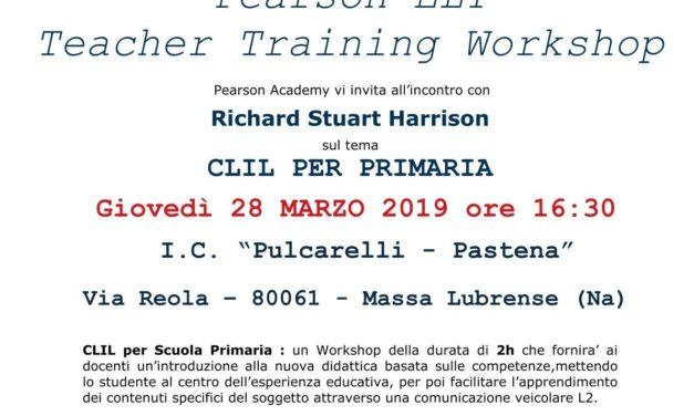 Corso di formazione PEARSON- CLIL PER SCUOLA PRIMARIA