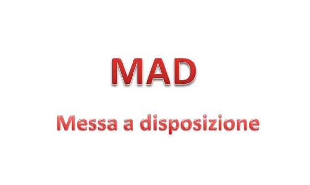 AVVISO MESSA A DISPOSIZIONE (MAD)-scuola secondaria di I grado