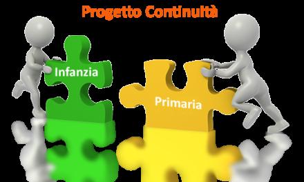 Organizzazione incontri continuità scuola infanzia/primaria