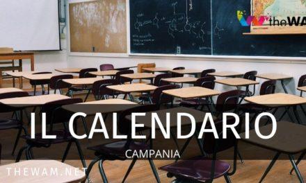 """Nuovo calendario scolastico 2020/2021 CAMPANIA"""""""