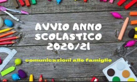Ordinanza POSTICIPO apertura Scuole a.s. 2020 2021