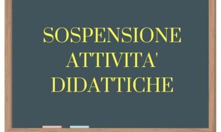 Avviso sospensione attività didattiche 02/11/2020