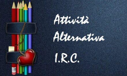 Circolare alunni non avvalentesi IRC