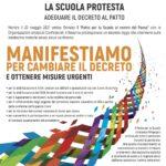 Manifestazione unitaria OOSS rappresentative comparto Istruzione