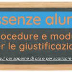 Assenze degli alunni – Modalità di riammissione in classe