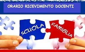 Orario di ricevimento del personale docente-SCUOLA SECONDARIA 1°GRADO – a.s. 2021-22